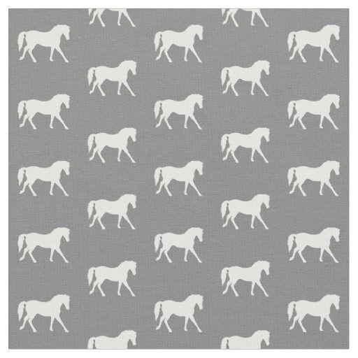 0d63936c42a Gray Pony Fabric, Horse Fabric, Farm Animal Fabric in 2019 | A kb2 | Horse  fabric, Horses, Pretty horses