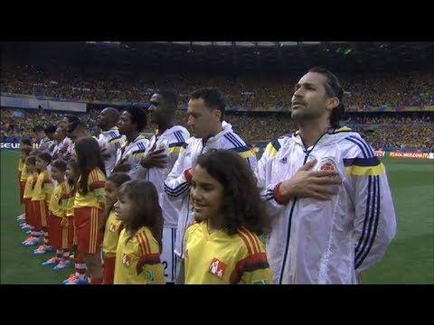 El Himno de la Selección Tras 16 Años de Ausencia en un Mundial | #Colombia  #VamosColombia  #Arribamitricolor  #Brasil2014