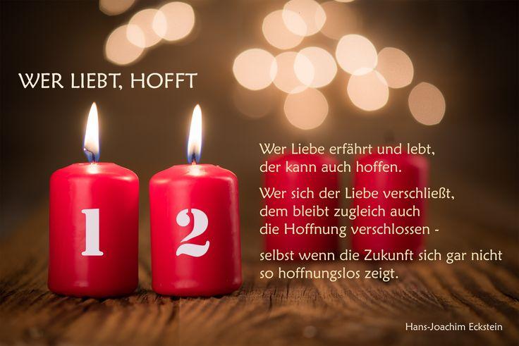2. Advent  Wer liebt, hofft