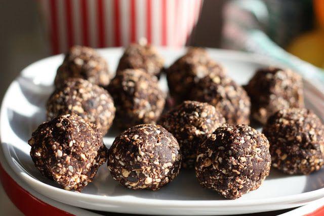 Les petits plats de Rose: Boules crues au cacao [vegan]