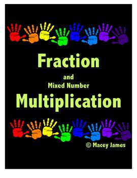 94 best macey james tpt store images on pinterest worksheets 150 fraction multiplication cross canceling when multiplying with fractions and mixed numbers can be challenging ccuart Gallery