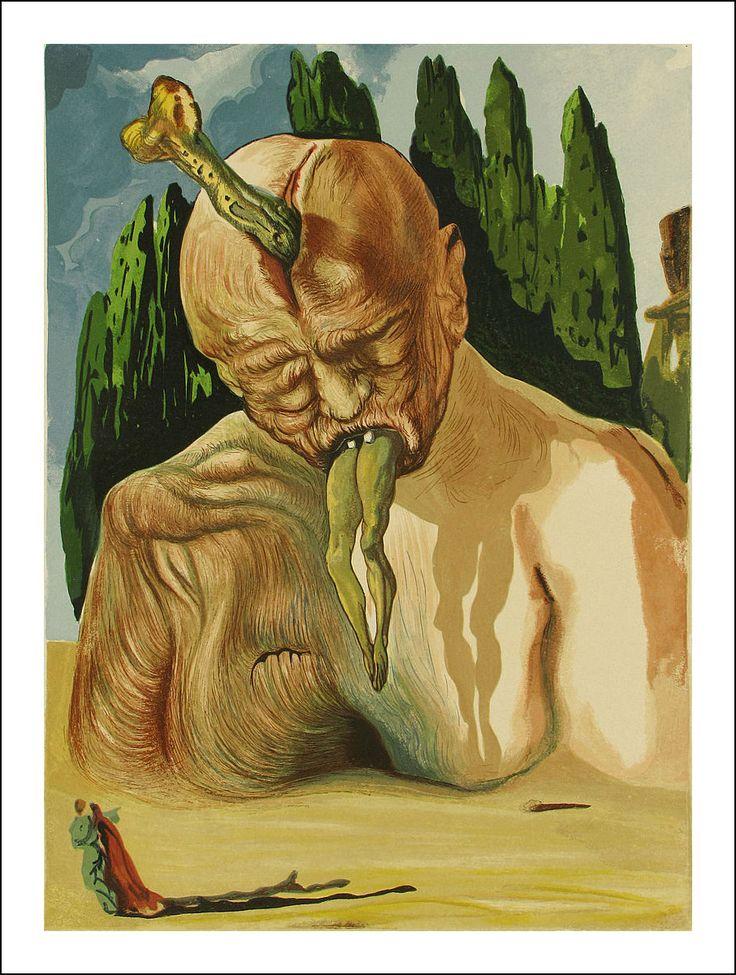 salvador dal u00ed u2019s sinister and sensual paintings for dante u2019s  u201cdivine comedy u201d