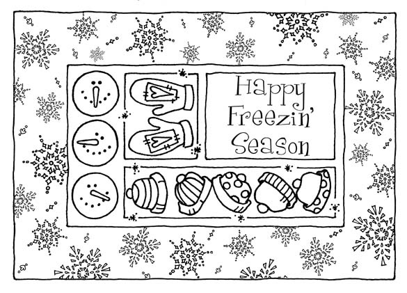 1000  images about winter crafts  pattern and coloring