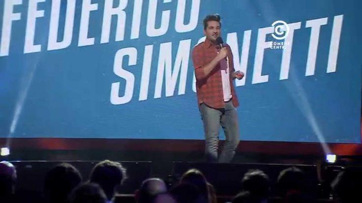 Federico Simonetti en Comedy Central Presenta 2014