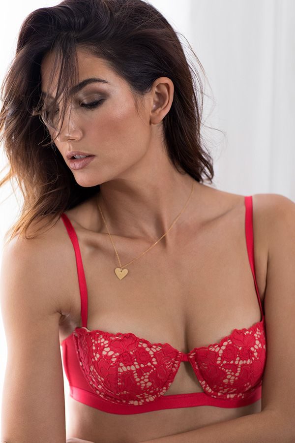 actually in love with this balconet bra victorias secret valentines lingerievalentines