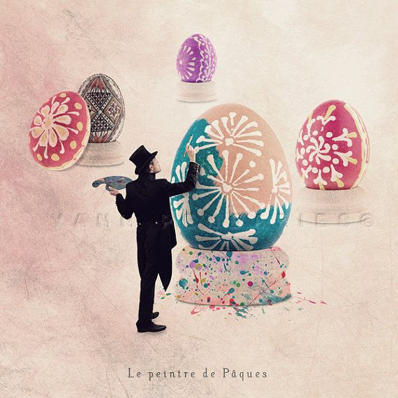 Small Trades selfportrait  The Easter painter  by PhotographyDream, €11.00