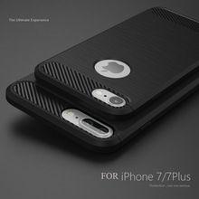 Caja del teléfono para iphone 7 7 más suave de silicona caso de la contraportada para iphone 7 7 plus 5 5S 6 6 s plus cubierta del teléfono del bolso anti-golpe Coque(China (Mainland))