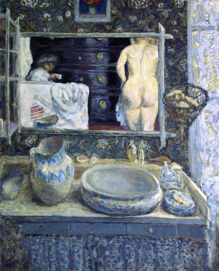 Mirror in the Dressing Room (Pierre Bonnard - 1908)