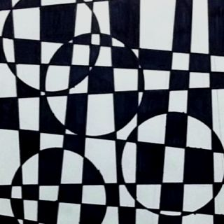 Great op art project#Repin By:Pinterest++ for iPad#