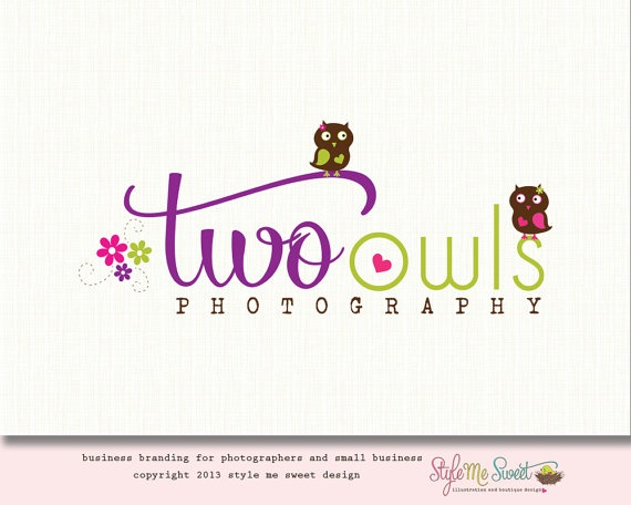 Two Owls Photography Logo