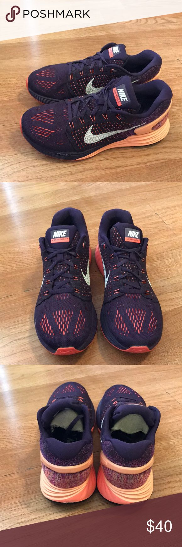 Nike lunarglide 7 Size 8 In good condition very comfortable Nike Shoes Athletic Shoes