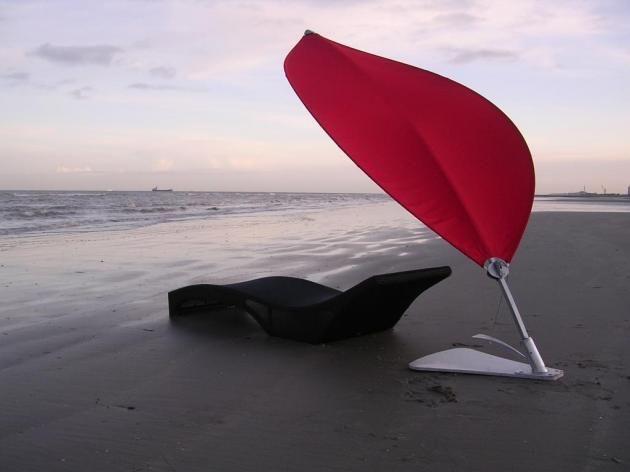 Futurystyczne parasole przeciwsłoneczne UMBROSA