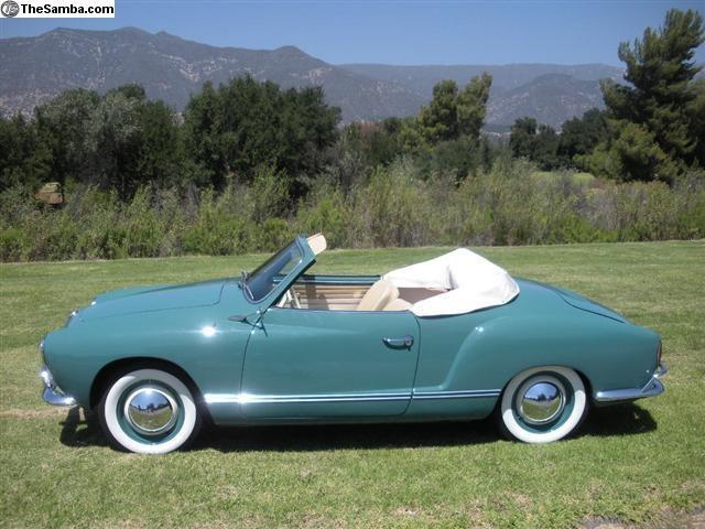 1965 Karmann Ghia Convertible
