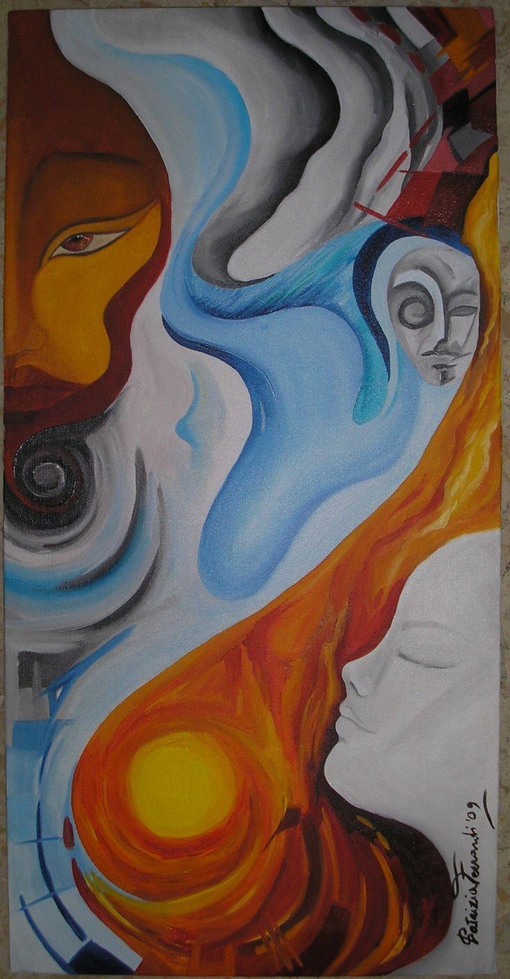 AMORE CANNIBALE olio su tela c. 60x30 (x ora proprietà dell'artista) Sotto la pioggia il mio corpo diventa una lacrima lacrimo me lacrimo me il grande amore cannibale ora io sono un canto che simula il vento non ho più me non ho più me il grande amore cannibale angeli di ali immobili sopra roghi gravidi succhiami respiri ultimi e dopo mangiami angeli in grida armoniche celestiali spiriti mai si saziano il grande amore cannibale il grande amore cannibale il grande amore cannibale il grande…