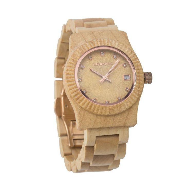 Cohnquer-serenity-maple-reloj-de-madera