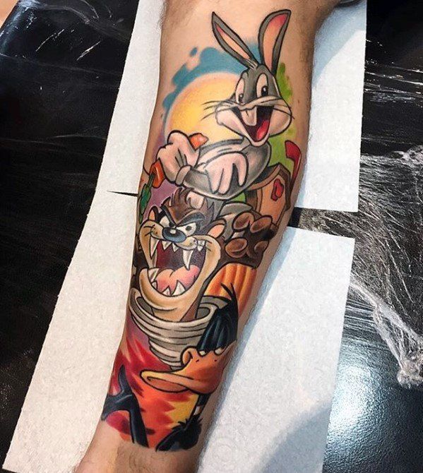 60 Looney Tunes Tattoos For Men