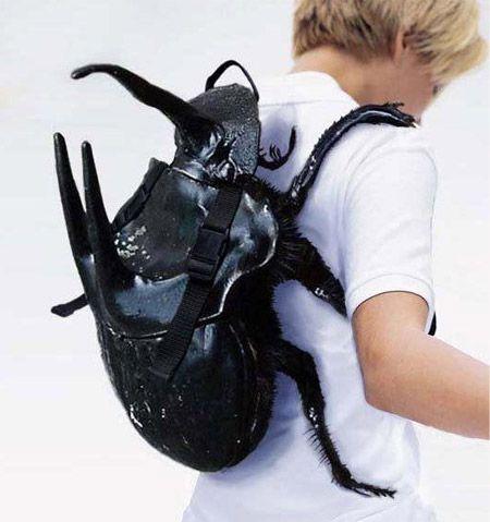 you have something on your back: Beetle Backpack, Backpacks, Stuff, Beetle Bag, Bug Backpack, Things, Beetles, Bags, Doctor
