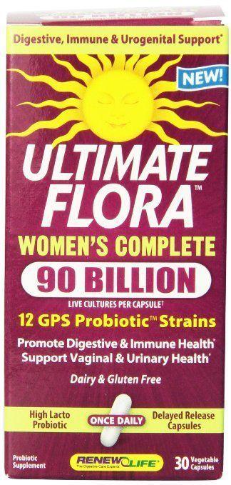 Probiotics vaginal care shelf