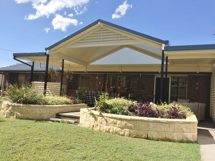 Stunning fly over patio structure #stratco #panoramapatios #outdoorliving #lifestyle #queensland