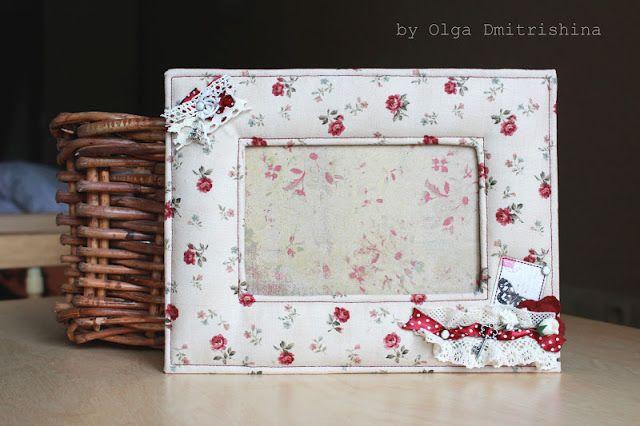 Handmade by Dmitrishina: Обещанный МК по мягкой рамке:) Fabric photoframe tutorial!