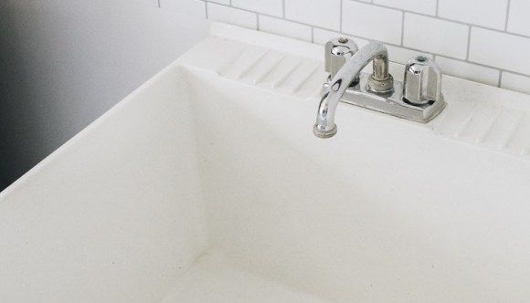 How To Hide Your Utility Sink Faux Cabinet Tutorial Utility