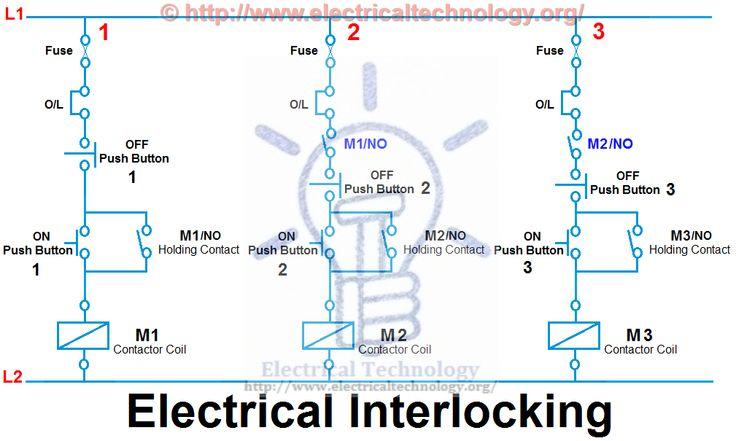 e5b0ffeef8fddff3ce565da79ee76d3d electronics electrical interlocking system mechatronics pinterest electrical interlock wiring diagram at panicattacktreatment.co