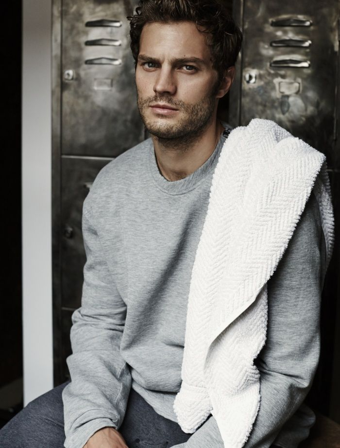 "Jamie Dornan by Alex Bramall for The Obsever Magazine November 2, 2014 Issue. He plays a serial killer in ""The Fall"" and stars in the film version of ""Fifty Shades of Grey"". Jamie Dornan gets physical for The Observer. See Dark star – Jamie Dornan interview on http://www.theguardian.com/tv-and-radio/2014/nov/02/jamie-dornan-the-fall-fifty-shades-of-grey"