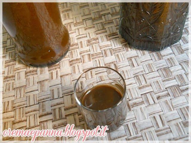 Crema e panna: Crema di liquore alla liquirizia