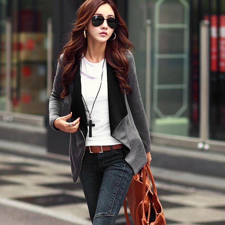 Spring Autumn Long Sleeve Women Basic Coat Jacket Female Cardigan Outerwear Poncho Suit Cape Bolero Clothing Cloak Manteau