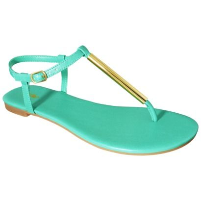 /// $14.99: Summer Sandals, Clothing, Color, Minti Green, Women Mossimo, Target Sandals, Poesk Flats, Mint Green Sandals, Flats Sandals