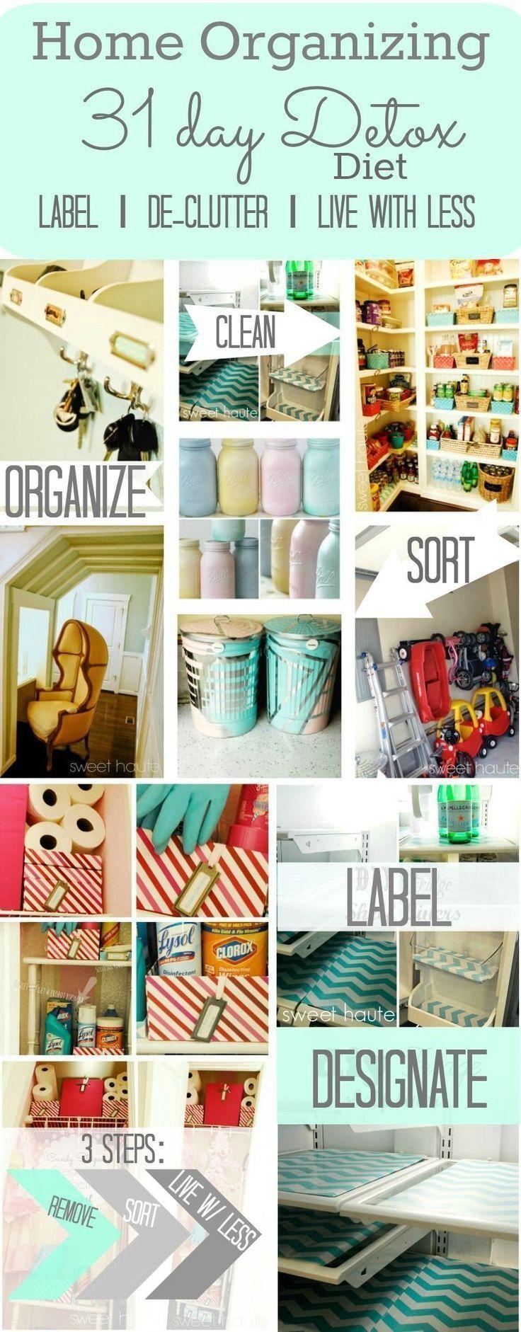 Home Organizing 31-Tage-Detox-Diät Home Organize – 3 Tage Detox-Diät   – Detox Rezepte