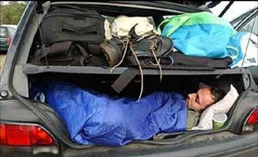 "An interesting set of skills for a SHTF scenario - ""How to live in your car.... By someone who has done it"""