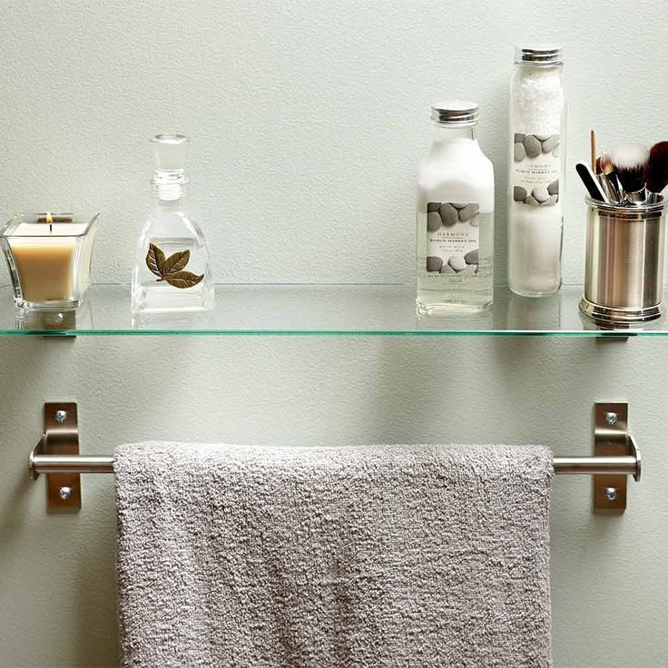 Best Bathroom Hacks Images On Pinterest Bathroom Hacks - Where to hang towel bar in small bathroom for small bathroom ideas