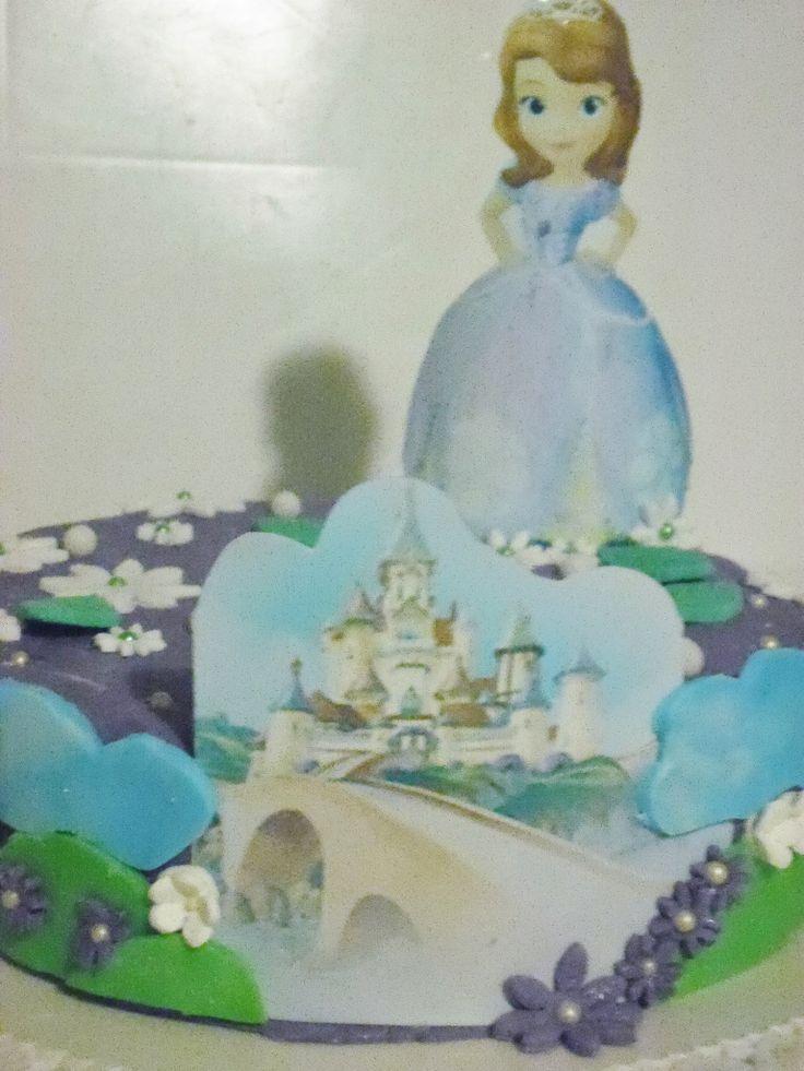 """Torta """"Principessa Sofia"""""""