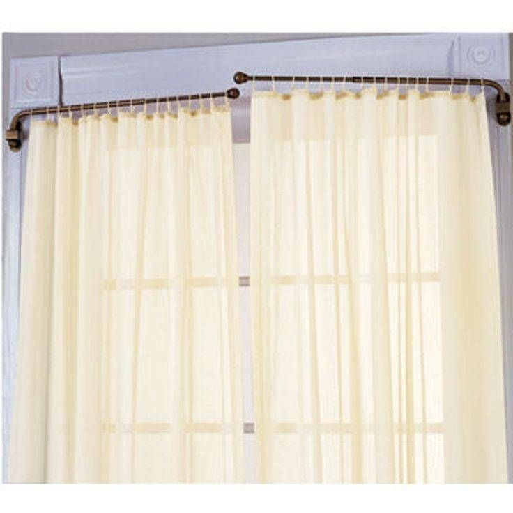 Lovely Swing Arm 14 To 24 Inch Adjustable Curtain Rod 27 Best