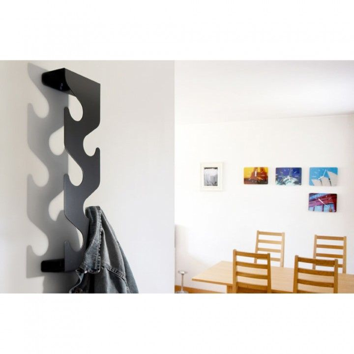 Furniture Furniture For Small Living Room Space Modern Wall Mounted Black Coat  Rack Photo To Decorate