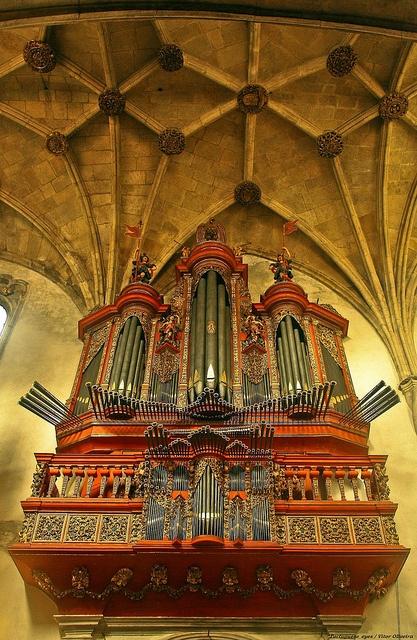 Órgão da Igreja de Santa Cruz - Coimbra - Portugal by