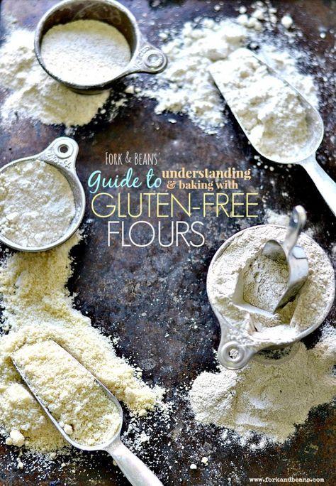 Guide to Gluten-Free Flours #baking #tips #glutenfree