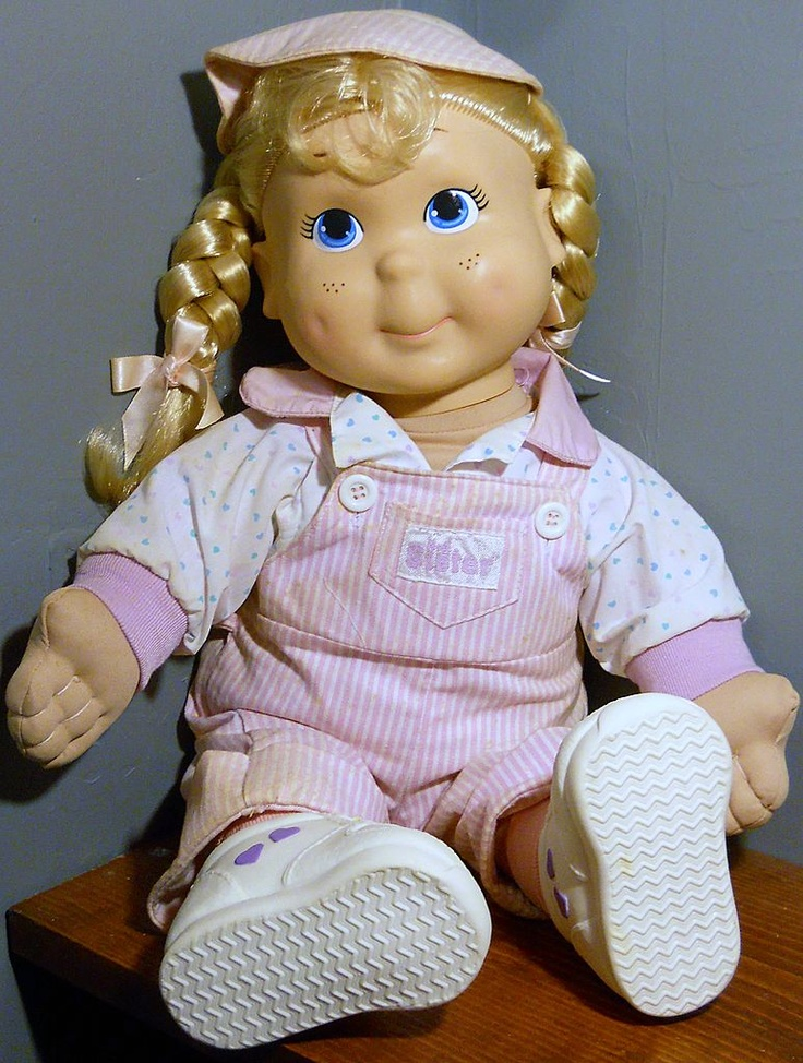 Kid Sister #80s #toys I had her and LOVED her. Actually, I might STILL have her.