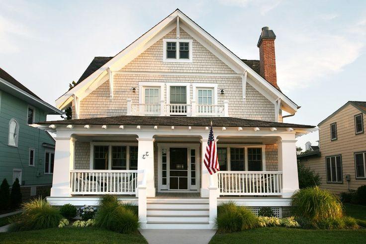 Craftsman front porch exterior beach style with yellow front porch front porch
