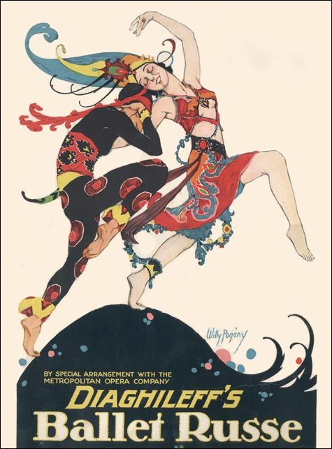 """dancerfromthedance: """" Diaghileff's Ballet Russe """""""