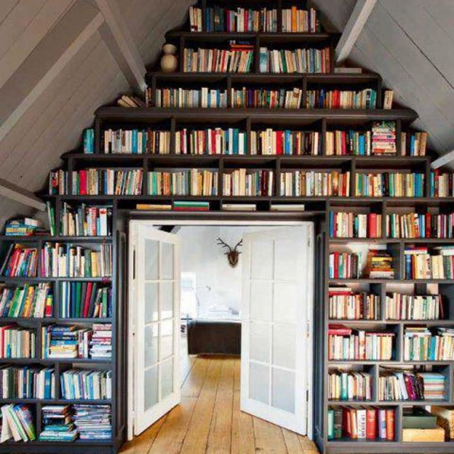 Your bookshelves are ...