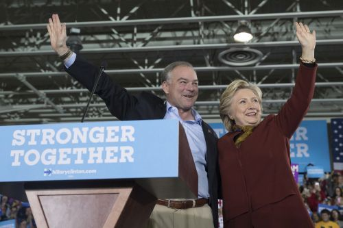 Tim Kaine's son sentenced for role in Trump protest