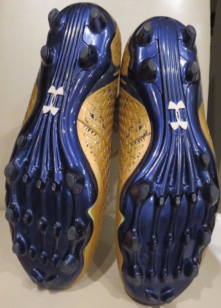 High Top Under Armour Football Cleats