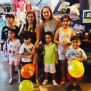 Judy Ann Santos at Gladys Reyes, nag-bonding kasama ang kanilang mga kids http://www.pinoyparazzi.com/judy-ann-santos-at-gladys-reyes-nag-bonding-kasama-ang-kanilang-mga-kids/