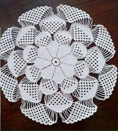 Tina's handicraft : doily photo tutorial