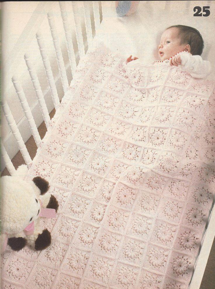 💮 👶🏼 💮 Mágica Crochetar Revista de Abril de 1987 Edição itens decorativos Criações -  /  💮 👶🏼 💮 Magic Crochet Magazine April 1987 Issue Knacks Creations -