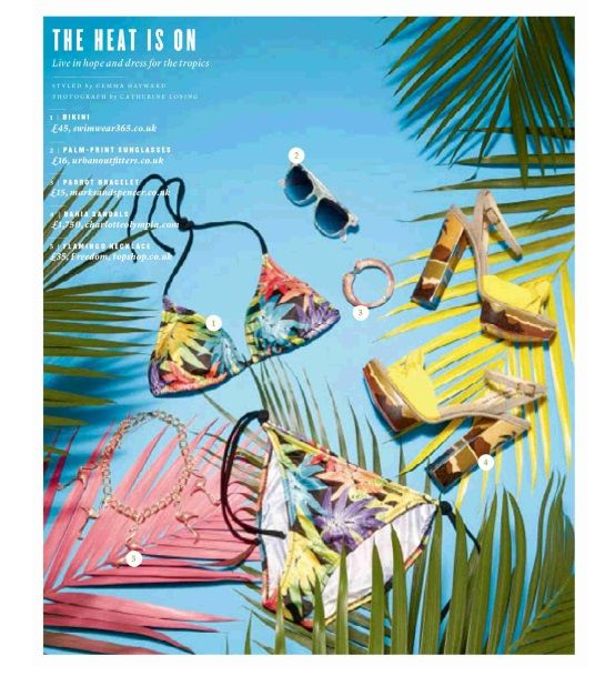 Bruno Banani Multi-Coloured Triangle Bikini  #Swimwear365 #IndependentOnSunday