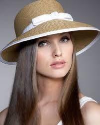 Resultado de imagen para sombreros blancos mujer