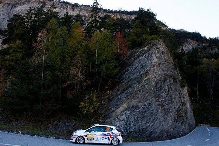 Rally du Valais - Chris Ingram & Gabin Moreau featuring the Alps - Peugeot 208 R2